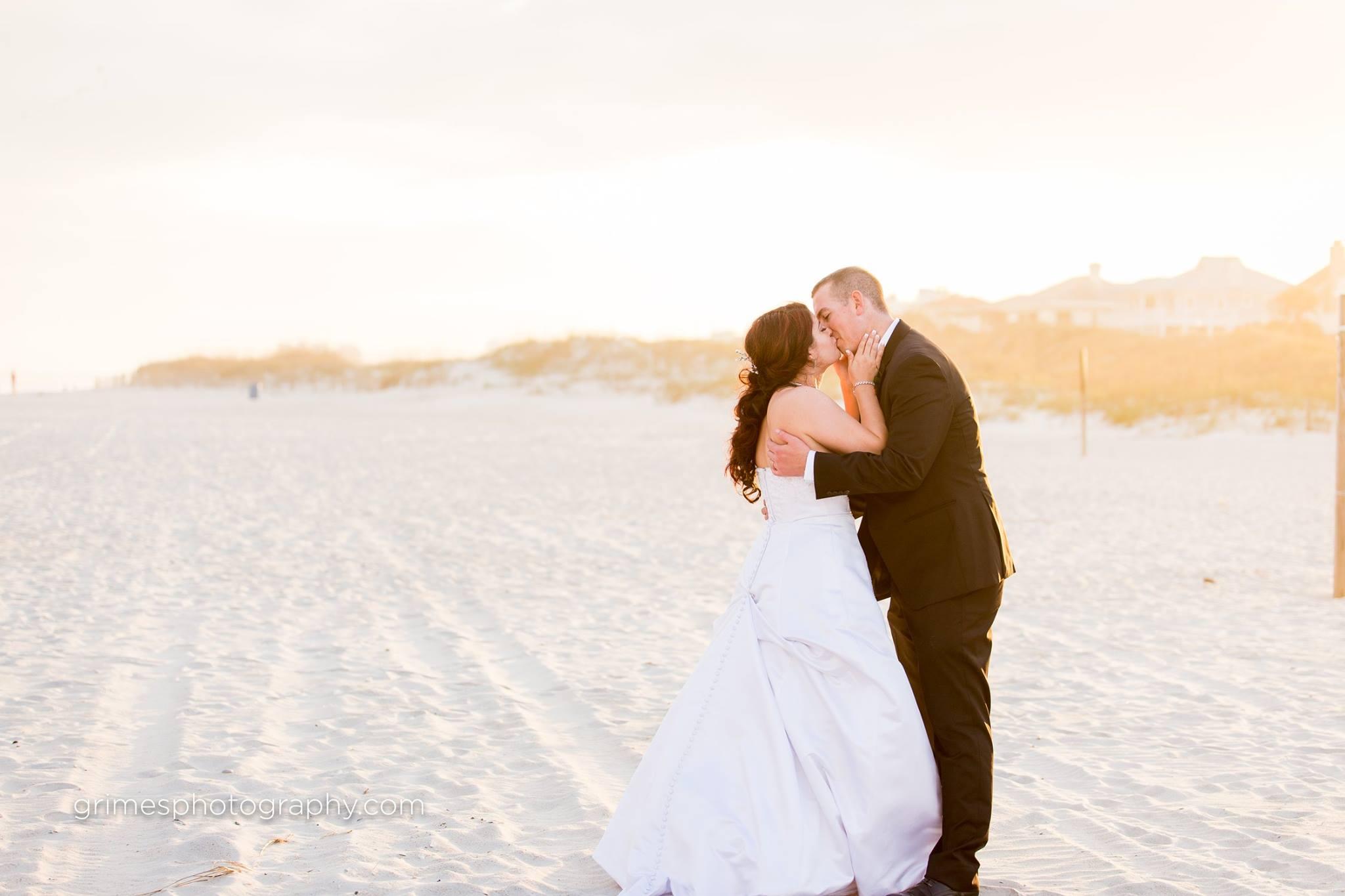 Wedding Photography Shell Island Resort Wilmington NC