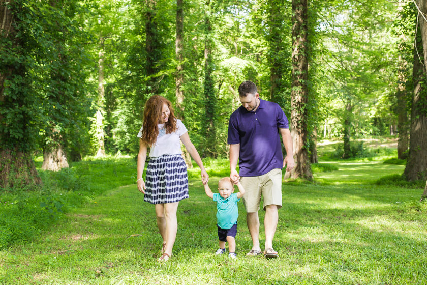 Webb Family Session - Greenville, NC (1 of 8)